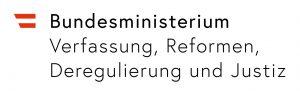 Logo Bundesministerium Verfassung, Reformen, Deregulierung und Justiz